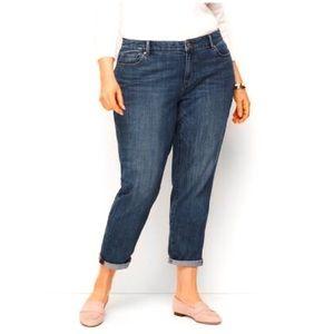 Talbots Flawless Girlfriend Curvy Jeans